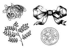 Free Etched Ornament Brushes courtesy of Eezy Premium have that vintage look that will give your project a floral, romantic feel. #graphicdesign #photoshop