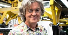 James May cheats death after losing control of his Porsche as Storm Imogen batters the UK