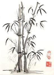 bamboo drawing - photo #39