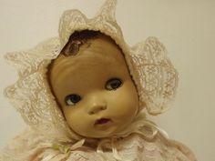 "Vintage Horsman Composition Doll Enchanting Eyes 22"" 1940's Flirty Eyes!!!"