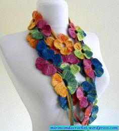 Explosion Of Color Necklace - Free Crochet Diagram - (mirindondecrochet.wordpress)