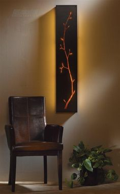 Leaf Silhouette Wall Sconces - 15 Wall Sconces Ideas