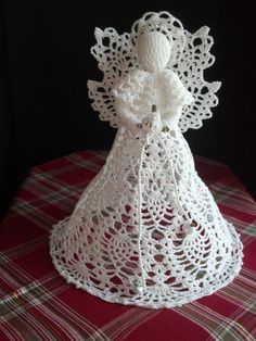 Crochet Angel  white by RitaKayCreations on Etsy, $65.00