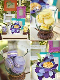 Van Gogh Inspired Rustic Wedding Decorations