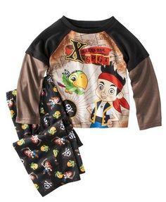 Shirt /& Pants Clothing Set Outfit Sz JAKE NEVER LAND PIRATES Vest 3T or 4T $40