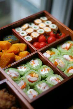 Japanese shokado lunch boxes