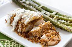 Recipe:+Spicy+Quinoa+Crusted+Chicken