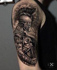 Warrior Tattoo Sleeve, Viking Tattoo Sleeve, Shoulder Armor Tattoo, Wolf Tattoo Sleeve, Warrior Tattoos, Forearm Sleeve Tattoos, Full Sleeve Tattoos, Viking Tattoos, Tattoo Sleeve Designs