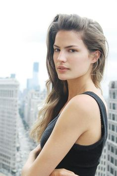 "Cameron Russell. This woman's TedX talk ""Looks Aren't Everything. Believe Me; I'm a Model"" is a must watch. She's amazing, inspirational and self-aware."