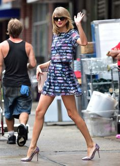 Taylor Swift's street style = perfection