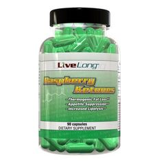 Raspberry Ketones by LiveLong Nutrition. $11.99. Raspberry Ketones are known as a natural thermogenic due to the release of norepinephrine. Raspberry Ketones can help suppress the appetite and aids in the breakdown of fat molecules to be used for fat metabolisim.