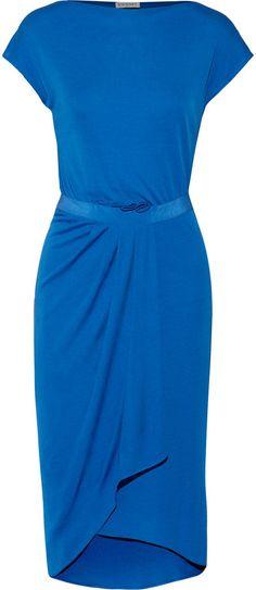 Vionnet Jersey wrap dress on shopstyle.com