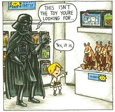 WHAT IF DARTH VADER WAS A GOOD FATHER