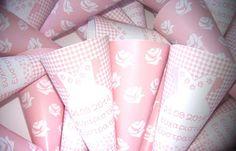 χάρτινα χωνάκια για ζαχαρωτά