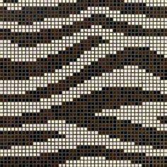 #Bisazza #Decorations Opus Romano Zebra | Feinsteinzeug | im Angebot auf #bad39.de 374 Euro/Pckg. | #Mosaik #Bad #Küche