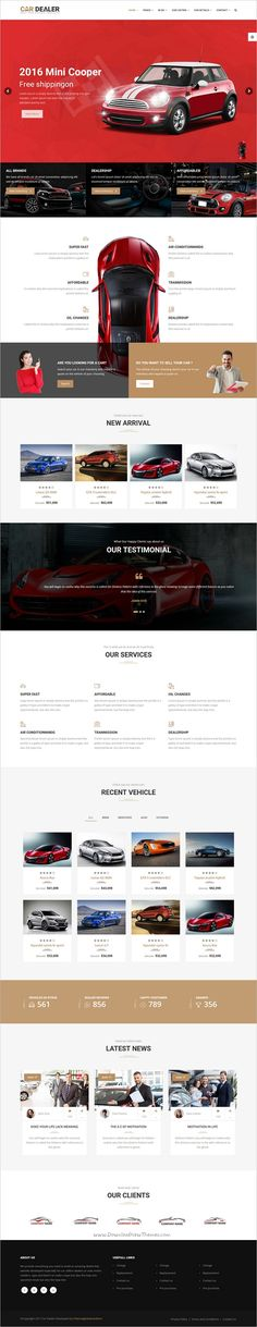 Car dealer is a wonderful responsive 6in1 #HTML5 bootstrap template for #webdesign best #car #dealer automotive websites with 4 unique animated sliders download now➩ https://themeforest.net/item/car-dealer-the-best-car-dealer-automotive-responsive-html5-template/19226545?ref=Datasata