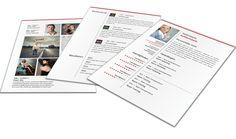 Modern Portfolio CV format 3204. Volledig in Microsoft Word voor elke functie zelf aan te passen.