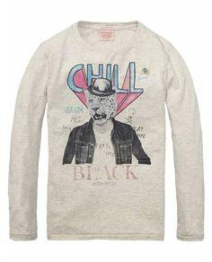 Photo Print Tee > Kids Clothing > Boys > T-shirts at Scotch Shrunk - Official Scotch & Soda Online Fashion & Apparel Shops