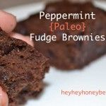 Best Peppermint Fudge, Chocolate Chip Brownies {paleo} | Paleo-Honey