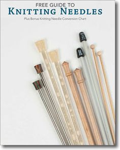FREE eBook from Knitting Daily -- All the current materials; the feel in your hands, weight, durability & use... Also compares interchangeable needle sets, before touching on double-pointed vs. circular needles. Nice summary in a chart... and a size conversion chart.   Plus throughout the guide you'll find specific recommendations for special situations.