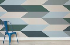 Block Geometric Design Wall Mural | MuralsWallpaper.co.uk
