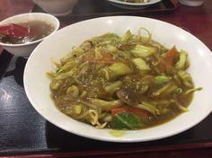 太麺バリメンカレー味