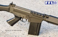 DSA Imbel FAL .308 RifleLoading that magazine is a pain! Get your Magazine speedloader today! http://www.amazon.com/shops/raeind