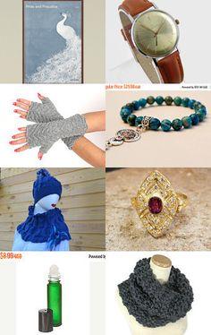 Winter shopping. by Victoria Romanova on Etsy--Pinned+with+TreasuryPin.com