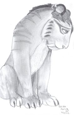 Shira from Ice Age 4