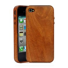 iPhone Case in mahogany wood, by Luardi $48