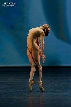 "Misty Copland in ""Toccare""      Body amazing! Artistry personified."