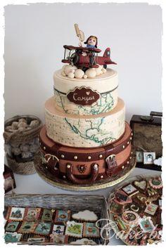 How to make a vintage fondant airplane cake – Cake.bg