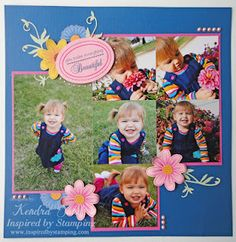 Layout with space for six pictures.