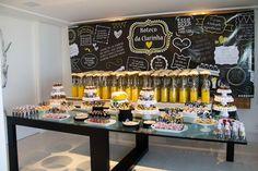 Chá de Cozinha | Tema Boteco e Cerveja | Vestida de Noiva | Blog de Casamento por Fernanda Floret
