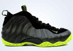 c7f7f7e6e09 Nike Air Foamposite One Black Bright Cactus Kobe Shoes