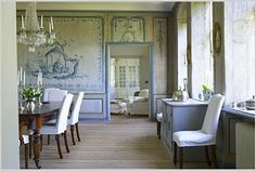 Eye For Design: Lars Bolander Interiors ....Comfortable, Sophisticated, European Style