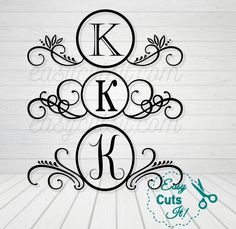 3 Mailbox Monogram Frames ~ SVG, DXF, EPS, PDF Compatible with Cricut Explore, Silhouette Cameo etc.