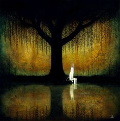 Gorgeous paintings by Andy Kehoe