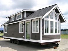 Can you believe this is a mobile home? From veritasparkmodels.com