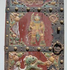 Massive Antique Chinese teak wood Door