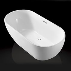 Badekar - Neria 168 fritstående badekar - http://www.spacenteret.dk/product/badekar-neria-168-fritstaaende-badekar-1376/