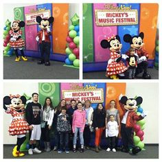 We had two VERY special guests show up for a Meet & Greet on Sunday, January 12 for Disney Live! Mickey's Music Festival.