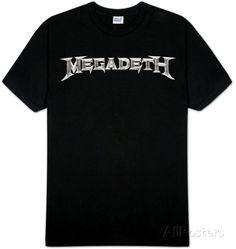 Megadeth - Logo T-Shirt at AllPosters.com