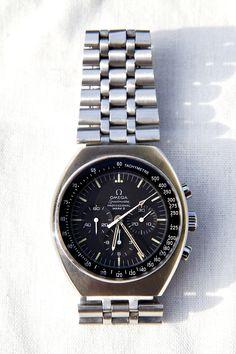 Omega Speedmaster Mark II circa 1970! Cal. 861, 17-jewel movement. Ref. 145.014