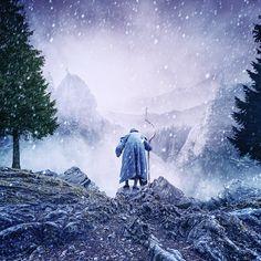 Journey to the underworld snow by Caras Ionut on Learn Photoshop, Journey, Let's Have Fun, Fine Art Photo, Underworld, Photo Manipulation, Dark Side, Pixel Art, Amazing Photography