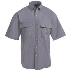 Wolverine Clothing Men's W1203510 023 Lead Short-Sleeve Trailhead Vented Back Shirt