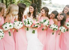 Photography: Amanda Watson Photography - amandawatsonphoto.com Bridesmaids' Dresses: Prim - www.primokc.com Floral Design: The French Bouquet Tulsa - thefrenchbouquettulsa.com   Read More on SMP: http://www.stylemepretty.com/2016/02/29/elegant-outdoor-country-club-wedding/