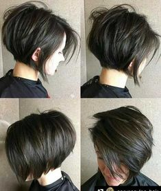11.Brown Short Hairstyle