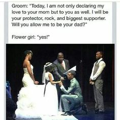This needs to happen at my wedding!!! #Theaweeffect