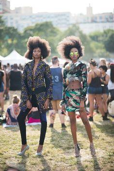 This Is Afro Punk | VOGUE ITALIA.COM CREDITS: Fashion Editor: Yomi Abiola / Models: Sheena Moulton, Kad Diallo, Danielle Gordon, Shamone Edwards, Tara Falla, and Aissa Rose Gueye